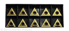RISHET TOOLS TT 321 C5 Multi Layer TiN Coated Carbide Inserts (10 PCS)