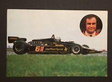 F1 original Autogramm v. Gunnar Nilsson (+)
