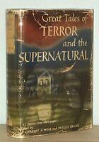 Herbert Wise - Great Tales of Terror & the Supernatural - 1st 1st 1944 HCDJ - NR