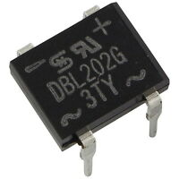 5 TAIWAN DBL202G Brückengleichrichter DIP 2A 70V 100V Gleichrichter 856855