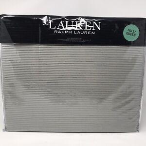 Lauren Ralph Lauren Spencer Matelasse Full/Queen Coverlet Bedspread Gray