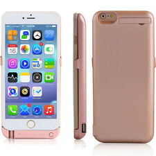 RoseGold 10000mAh PowerBank Rechargeable Protective Battery Case iPhone 6s Plus