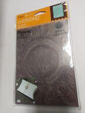 "Provo Craft Cuttlebug 5""X7"" Embossing Folder By Anna Griffin-Ornate Medallion"