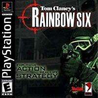 Tom Clancy's Rainbow Six Playstation Game PS1 Used Complete