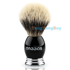 Anbbas Best Badger Hair Shave Brush, Resin & Alloy Handle for Man Grooming