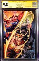 JUSTICE LEAGUE #1 CGC SS 9.8 KIRKHAM VIRGIN BATMAN SUPERMAN WONDER WOMAN FLASH