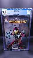 Ironheart #1 CGC 9.8 Vecchio 1:10 Variant Riri Williams MCU Disney+