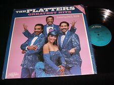THE PLATTERS<>GREATEST HITS<>Lp VINYL~Canada Pressing~JA-775