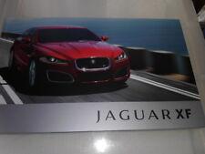 Jaguar XF 2.2, 3.0 V6 y 5.0 V8 gasolina/folleto De Venta Completo sobrecargado 2011-12