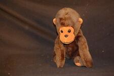 """Brown Monkey Chimp Ape Long Arms Cute Vintage Dakin Plush 7"""" Toy Lovey"""