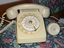 Raro telefono a disco francese anni '70