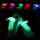 5 Pairs LED Flash Luminous Shoelaces Light Up Glow Waterproof Shoelaces Disco