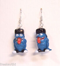 "FREAKY GEEKS ""Knuckles"" Hot Rod Funny Car Figurines Toys 1"" Dangle Earrings"