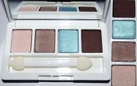 CLINIQUE ALL ABOUT SHADOW QUAD -Morning Java/Blushed/Hazy/Jammin'