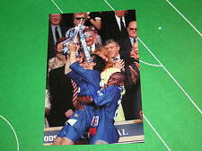 Chelsea Gianfranco Zola Signed 1997 FA Cup Final Winners Photograph