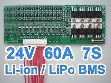 24V 25.2V 29.7V 60A Lithium ion Li-ion Li-Po LiPo Polymer Battery BMS PCB System