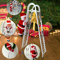 Mr. Christmas Super Climbing Electric Ladder Cute Santa Holiday Decor With Music
