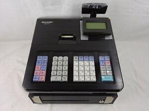 Sharp XE-A177BK elektronische Registrierkasse Ladenkasse Kassensystem H W20-2664