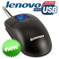 Lenovo Scrollpoint USB Scroll Optical Mouse 800DPi Black Laptop Desktop PC New