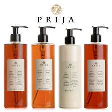 Prija Set Flüssigseife, Hair & Body, Bodylotion, Aufbaushampoo Ginseng 4x 380 ml
