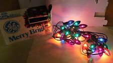 Outdoor Christmas Lights  25 C9 bulbs per set Used but in very good condition.