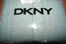 DKNY Heatset 2 Standard/Queen Quilted Shams Green - New