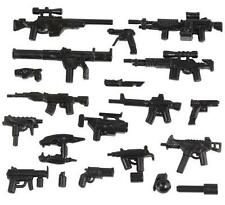 Custom Modern Combat Weapon Pack for Lego Minifigures -20 pcs- NEW!