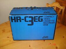 JVC Compact Video Cassette Recorder HR-C3EG VHSC PAL año 1987 **NUEVO SIN USO**