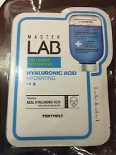 Lot of 10 TONY MOLY Master Lab Mask ~ Intensive Hydrating ~ Hyaluronic Acid