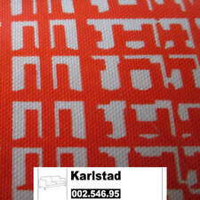 New Original IKEA Cover Karlstad 2-seat sofa in Husie Orange 100%Cotton