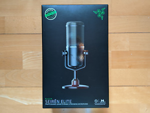 Razer Seirēn Elite Seiren Professional Streaming PC USB Microphone NEW SEALED