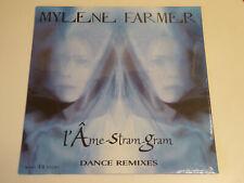 MAXI 12'' MYLENE FARMER Mylène L'AME-STRAM-GRAM dance remixes SEALED 1999