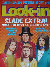 LOOK-IN MAGAZINE 24TH MARCH 1973 - SLADE