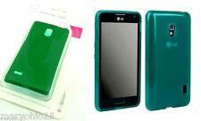 LR2 Green Authentic T Mobile Flex Protective Cover Case LG Optimus F6 MS500 D500
