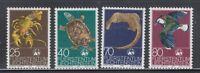 Liechtenstein 1976 Sc 583-586 WWF turtle complete mint never hinged