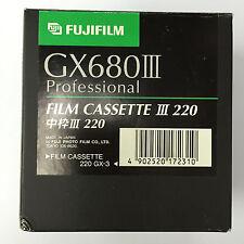 FUJIFILM GX680III Professional Film Cassette III 220