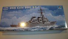 Trumpeter 1/350 USS Cole DDG-67 Burke Class Destroyer Kit # 04524