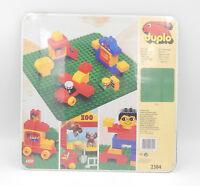 LEGO Duplo 2304 grüne Bauplatte / Grundplatte - 1992 - NEU / OVP new