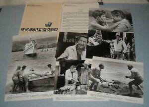 1968 KONA COAST MOVIE PRESS KIT 7 PHOTOS VERA MILES RICHARD BOONE JOAN BLONDELL