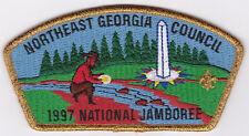 JSP - NORTHEAST GEORGIA COUNCIL - 1997 NATIONAL JAMBOREE - OVERSIZE