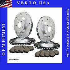FRONT & REAR BRAKE ROTORS AND PADS 1999 2000 2001 2002 2003 2004 Ford Mustang