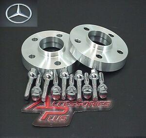 2 Pc Mercedes C Class Hub Centric Wheel Spacer 15mm # AP-5112-66-15