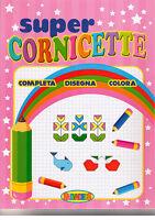 Super cornicette. Completa disegna colora - Salvadeos - Libro nuovo in offerta!