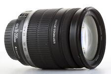 Objetivo Canon EF-S 18-200mm es para EOS 1200D 750D 700D 7D EFS 135mm