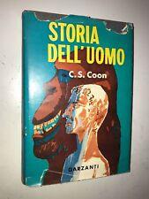CARLETON S. COON - STORIA DELL'UOMO - GARZANTI, 1958