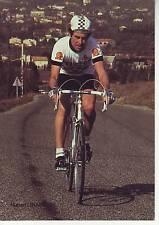 CYCLISME carte cycliste HUBERT LINARD équipe PEUGEOT SHELL MICHELIN 1982