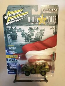 Johnny Lightning WWII Dodge WC57 Command Car Version A D-Day Greatest Generation