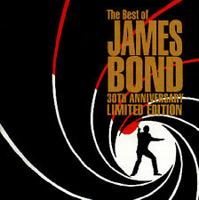 The Best Of James Bond - 30th-Anniversary Limited Edition Doppel-CD Album 02/03