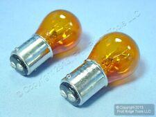 2 New Wagner BP2057NA Amber Parking Lamp Turn Signal Light Bulbs 12V