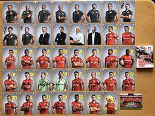40 AK Bayer Leverkusen Autogrammkarten 2019-20 original signiert im Pappschuber
